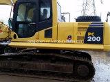 Excavatrice PC200-7 de KOMATSU utilisée par prix bas à vendre