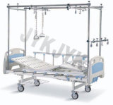 Cama de hospital - cama manual ortopédica do cuidado (Tratction dobro)