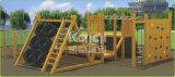 Спортивная площадка Kaiqi деревянная напольная с различными альпинистами тренировки и каналами (KQ60088A)