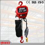 Guindaste de corrente elétrica de 500kg com suspensão de gancho