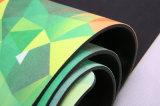 Напечатанная таможня циновки йоги естественного вала резиновый