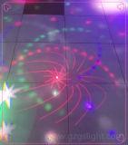 Luz colgante de la bola mágica del universo del LED para el baile de la fiesta de Navidad