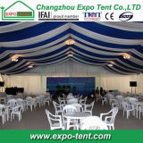 Grosses Outdoor Event Marquee Tent mit Lining Decorations