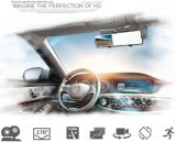 4.3インチHD 1080P Dual Rearview Mirrow Car DVR