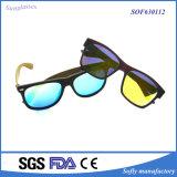Kundenspezifische Großhandelsform-stilvolle Unisexweinlese PC Sonnenbrillen