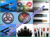 Силовой кабель N2xsey 3*240mm2, медный кабель, оболочка PVC изоляции XLPE, кабель экрана медного провода, VDE 0276-620 одобрил