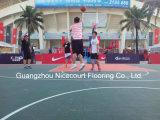 Azulejos de suelo portables del baloncesto para la corte del deporte, suelo que se enclavija