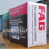 Рекламировать воздушные шары PVC кубика гелия с полным печатание