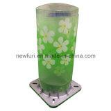 니스 꽃을%s 가진 태양 다채로운 조경 램프