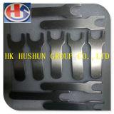 Chave de alumínio personalizada da chave inglesa aberta da elevada precisão (HS-AW-001)