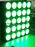 Wäsche des Nachtclub-LED RGBW/Matrix-Licht des Träger-Effekt-25PCS LED