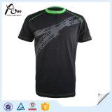 Zoll druckte T-Shirts en gros plus Größen-Gymnastik-Abnützung