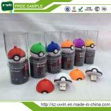 OEM de Aanvaardbare Aandrijving van de Flits van Pokeball USB van de Douane van de Gift van de Bevordering Pikachu