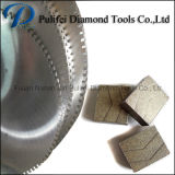 Segment van de Diamant Reinfoce van het Graniet van de steen het Marmeren Concrete Scherpe voor het Malen van de Vloer van de Muur