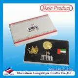 I distintivi di qualità superiore magnetici dei UAE progettano il distintivo per il cliente benvenuto di Pin