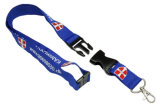 Customer Logo를 가진 ID Card Holder Lanyard