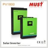 onda de seno pura del inversor del cargador de la energía solar 3kVA