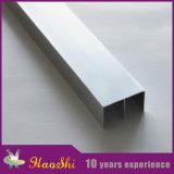 Testo fisso anodizzato delle mattonelle della parete di profilo della lega di alluminio