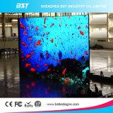Schermo di visualizzazione esterno esterno caldo del LED dell'affitto SMD2727 del rifornimento P4.81mm della fabbrica della Cina di vendita per la fase