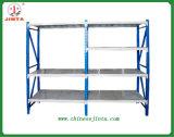 Estante medio del almacenaje, estante corrosivo anti del almacenaje, estante del almacén del metal