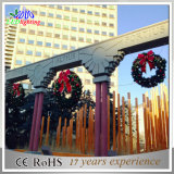 Luz comercial das decorações da grinalda de Habging do Natal do diodo emissor de luz do presente do festival