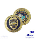 Memoring (MC-021)のためのカスタマイズされたEnamel Officer Challenge Coin