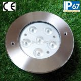 18W 3 색 알루미늄 Inground LED 빛 (JP82666)