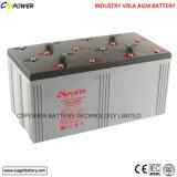 батарея цикла 2V 3000ah глубокая для ветра/солнечной системы