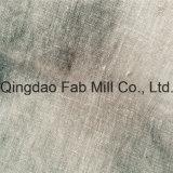 Tela rayada blanca 100%Linen para la exportación (QF16-2504)