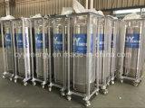 промышленный криогенный цилиндр дюара изоляции аргона азота жидкостного кислорода 175L