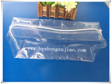 Bolso de encargo del empaquetado plástico de Matt con el resbalador y la suspensión Ziplock para la ropa