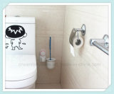 Badezimmer-an der Wand befestigter Toiletten-Pinsel-Halter mit Absaugung-Cup