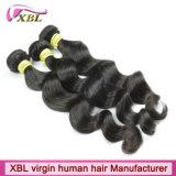取除くインドの実質の人間の毛髪の最もよい拡張毛無し