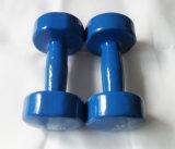 Dumbbell comercial usado interno do vinil do equipamento da ginástica do equipamento da aptidão