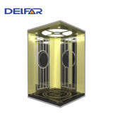 Économie d'énergie sûre d'ascenseur de passager de Delfar