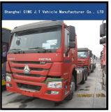 6X4 de Vrachtwagen van de Tractor HOWO met het Trekken van Ton 80 -100