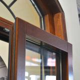 다중 자물쇠 아치 조정 Windows Kz156를 가진 알루미늄 목제 여닫이 창 Windows