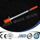Siringhe dell'insulina con la bolla o l'imballaggio del PE
