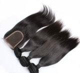 일급 질 화려한 페루 Ombre 머리