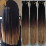 Extensão indiana do cabelo humano de Remy Ombre do Virgin da venda quente