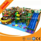 Grandes glissières personnalisées de cour de jeu d'intérieur commerciale d'enfants à vendre