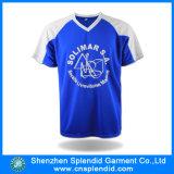 T-shirt en gros de son du polyester deux de sports d'hommes de la Chine