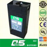 o AGM 2V200AH, coagula a bateria regulada de Aicd da ligação da bateria da potência da bateria da potência solar do ciclo da bateria recarregável válvula recarregável profunda para a bateria Long-Life