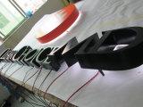 Lettres lumineuses éclairées à contre-jour par mémoire lumineuses de publicité extérieures d'acier inoxydable