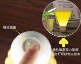 Lampada a forma di dell'indicatore luminoso di notte di volano ricaricabile LED del USB