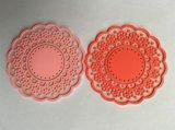 Esteira de borracha macia relativa à promoção do copo do Coaster plástico da alta qualidade (CO-025)