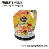 ソースのための口が付いている食品包装の永続的な袋