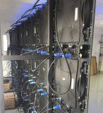 Visualizzazione di LED dell'interno dell'impianto