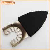 Gancho de leva y pista Sandingpad triangular usado para la herramienta multi oscilante