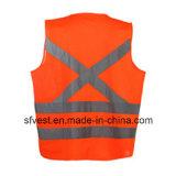 Отражательная тельняшка безопасности для взрослых с En ISO20471